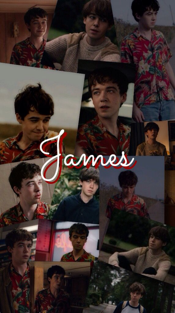 James The End Of The Fucking World Fondo de pantalla