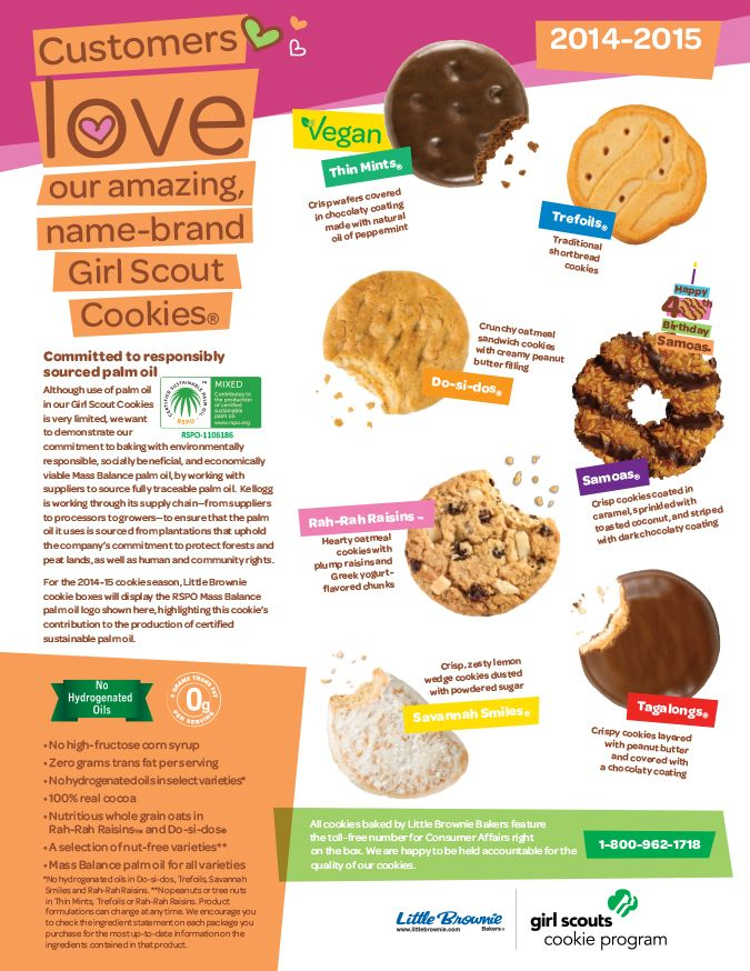 17 best images about girl scout cookies and stuff on