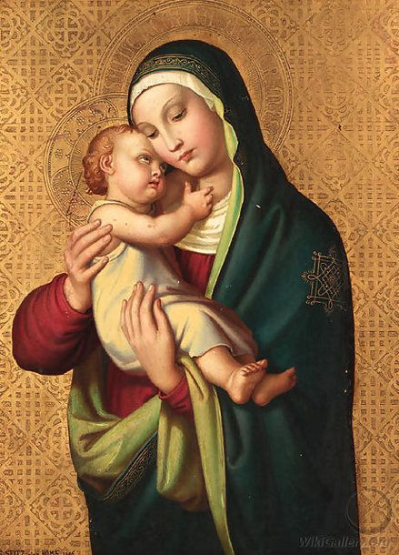The Madonna and Child, by Alexander Maximilian Seitz