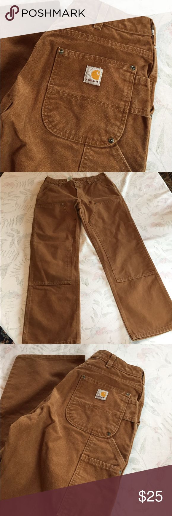 Carhartt dungaree fit pants Carhartt dungaree fit pants great preloved condition perfect for camping or work! Carhartt Pants