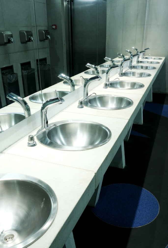 New, fabulous sanitary facilities of the Tallinn Song Stage