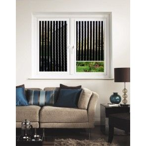 Bali Black Perfect Fit Pleated Blind