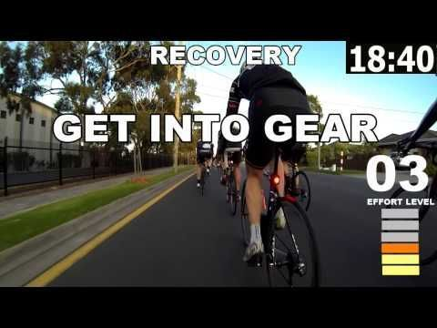 45 Minute Indoor Trainer Workout - YouTube #stationarybikingworkout
