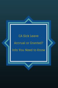 If you are a California employer, I hope you are preparing for the new sick leave policy that takes effect July 1, 2015. Read more to learn who qualifies and what information you will need to provide to your payroll processor. If you do not yet have a payroll processor contact us today at (310)534-5577.