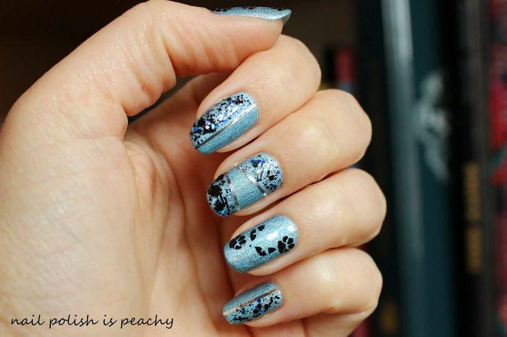 nail polish is peachy: Un joyeux anniversaire tout en bleu pour Helenanou et Caro
