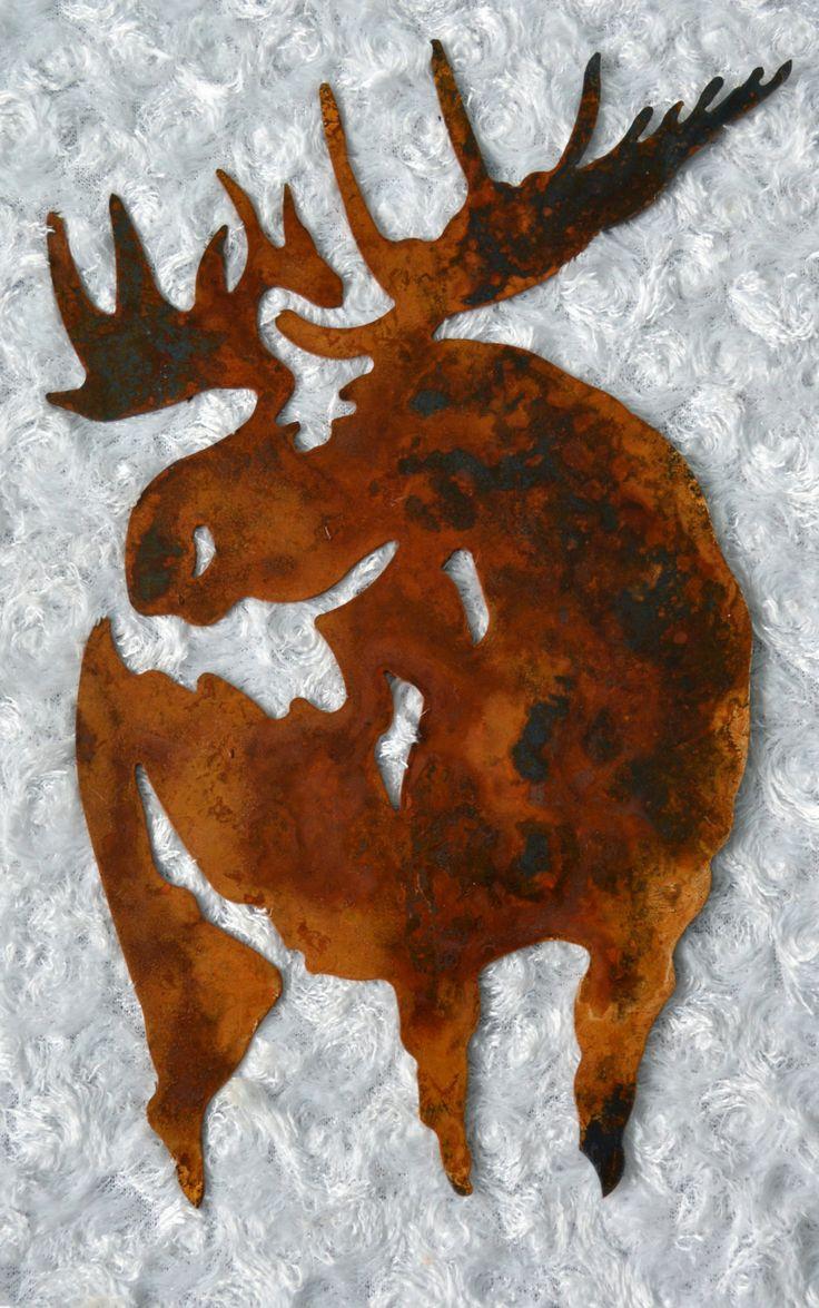 81 best moose metal wall art images on pinterest metal