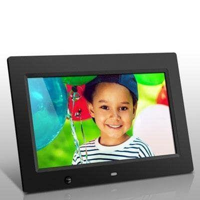 Aluratek Admsf310f 10-Inch Digital Photo Frame With Energy Efficient Motion Sensor 4Gb Built In Memory (Black)