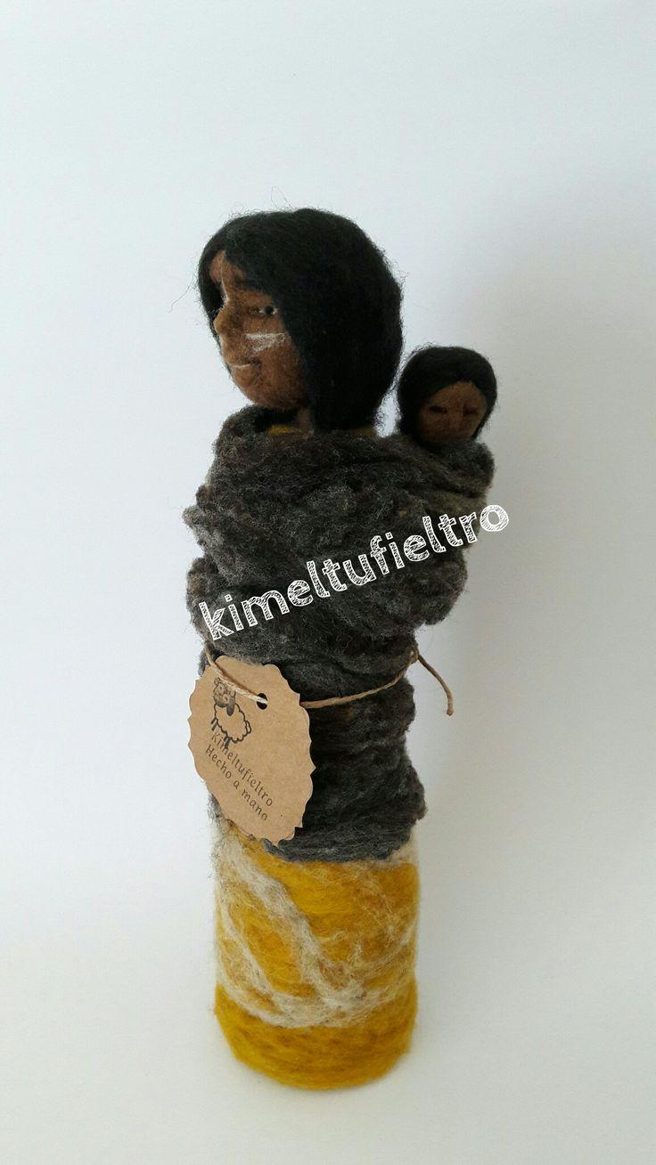 Mujer selk'nam