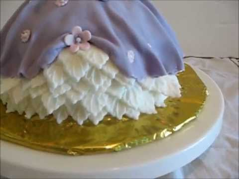 Decoration Of Doll Cake : how to decorate a Princess Doll Cake For more FREE cake ...