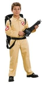 Who you gonna call? Ghostbusters. Classic boys Ghostbusters outfit.