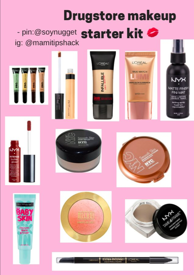 Starter Makeup Products