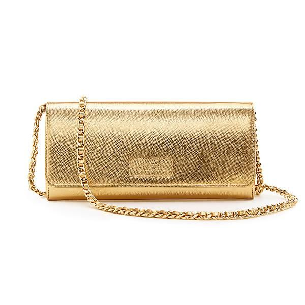 Luxurious Concetta Wallet in Gold