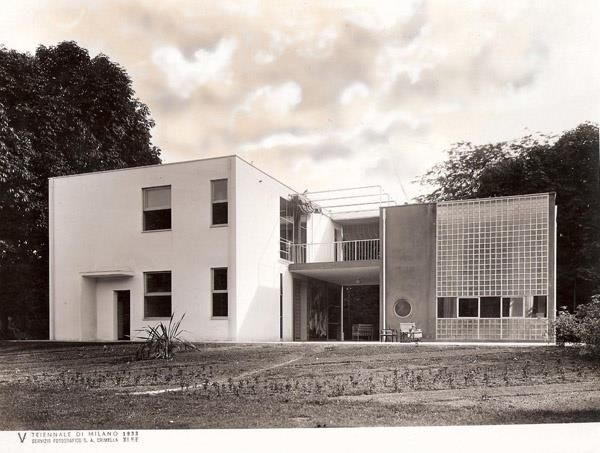 Casa junto al lago para un artista (1933) | G. Terragni
