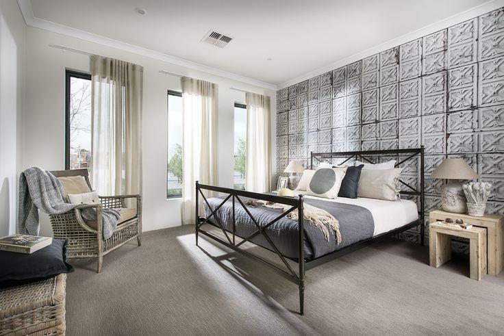 Main Bedroom - Homebuyers Centre Display Home - Ellenbrook, WA Australia