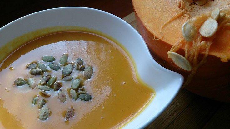 Ala'Antkowe BLW » Zupa krem z dyni i marchewki