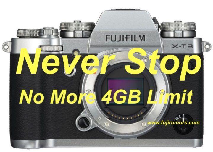 Fujifilm X-T3: New Firmware Will Add exFAT File System