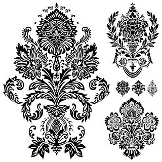 Free damask download. Lots of others too.