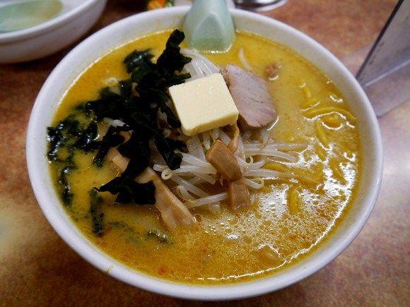 We+try+surprisingly+delicious+Miso+Curry+Milk+Ramen+inAomori