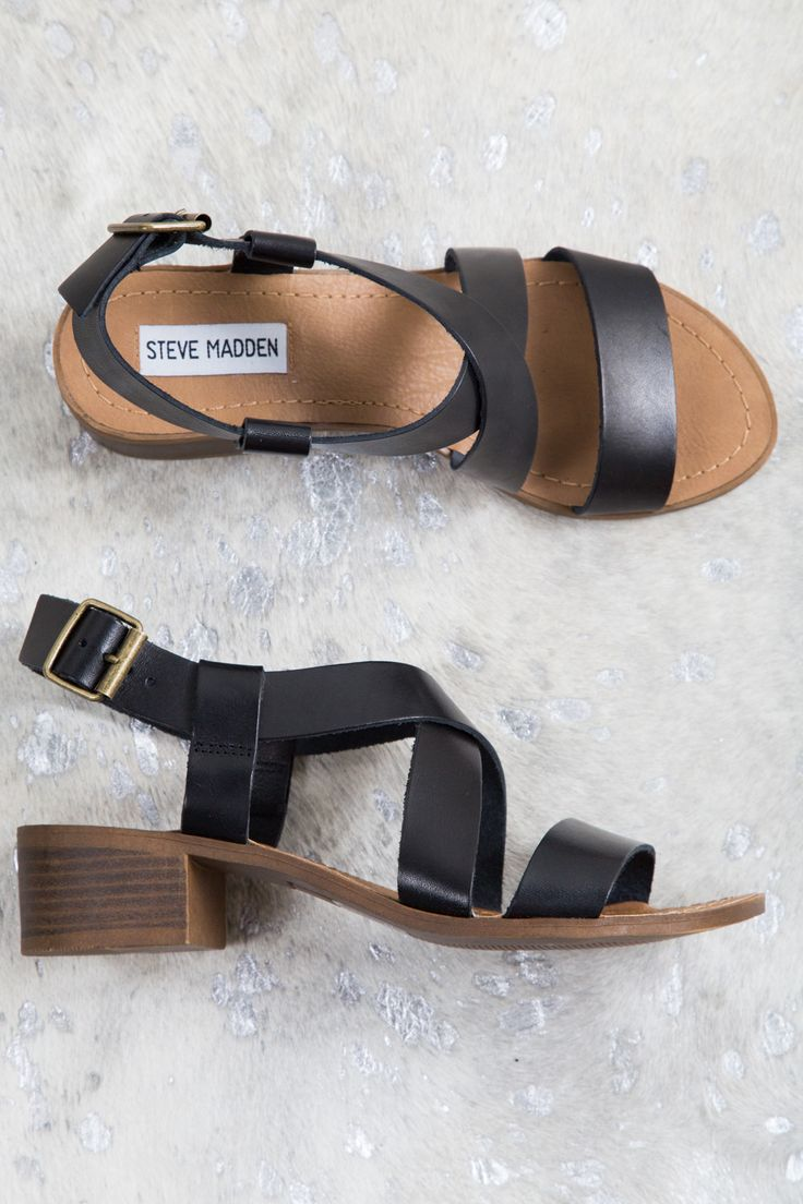 THE BEST SHOE you can own is right here. We aren't kidding. It's black AND brown, so it goes with everything. The heel is low, so they are great for walking and won't kill your feet. They are neither
