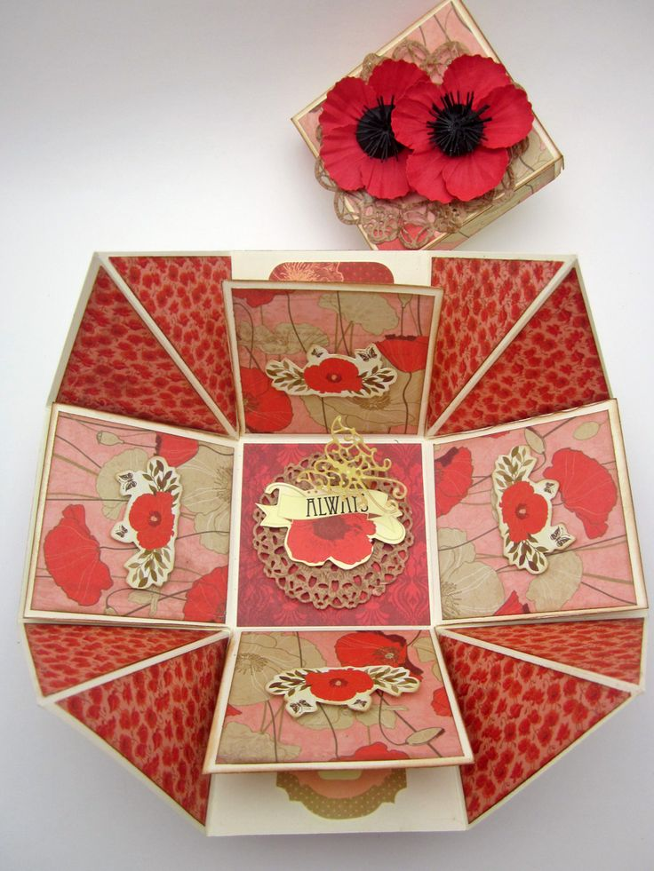 Открыток, как сделать из открытки коробки