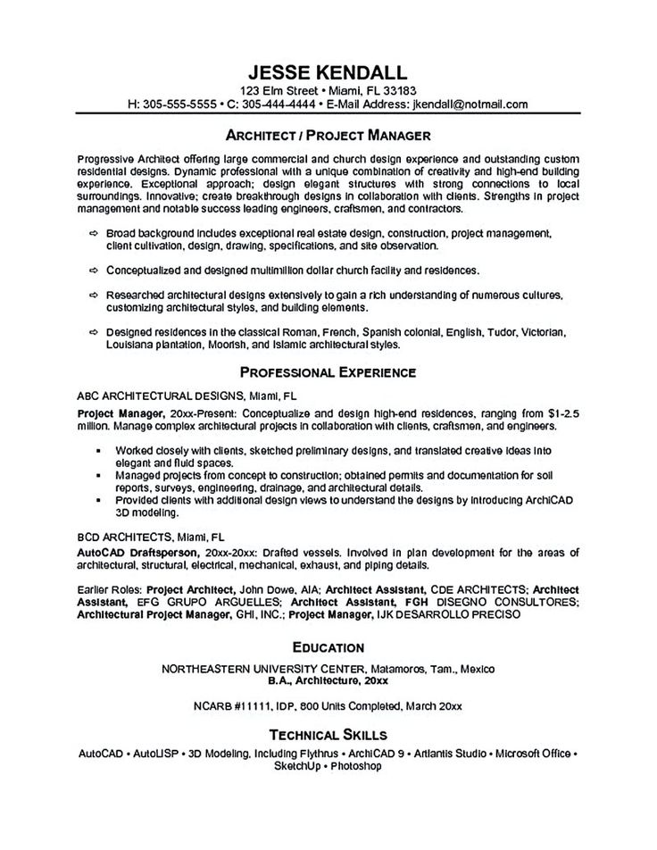Best 25+ Project manager resume ideas on Pinterest Project - case manager resume