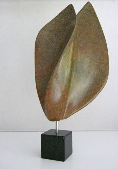No title3. A sculpture made of Brazilian soapstone.