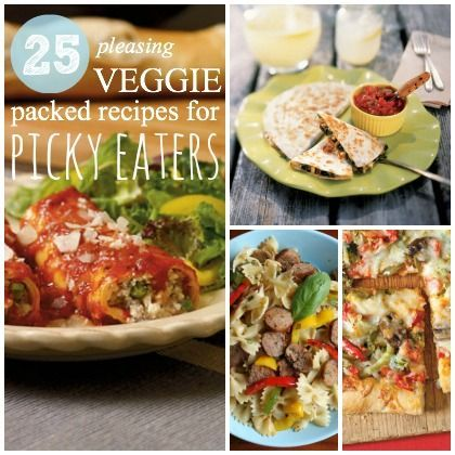 24 best picky eaters images on pinterest picky eaters healthy 25 pleasing veggie packed recipes for picky eaters not vegetarian but heavy on the ccuart Gallery