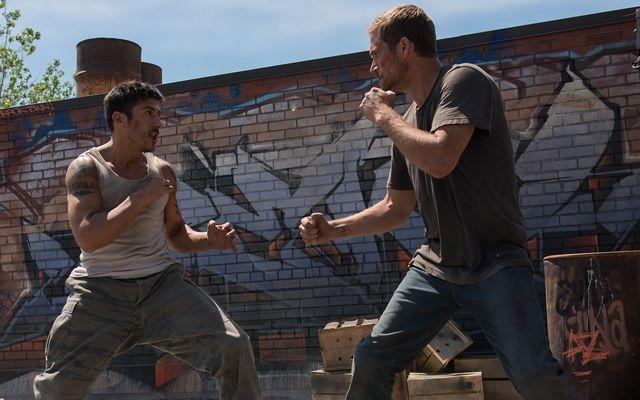 Parkour Stunts Dominate The Action In 'Brick Mansions' #paulwalker #parkour #brickmansions #review
