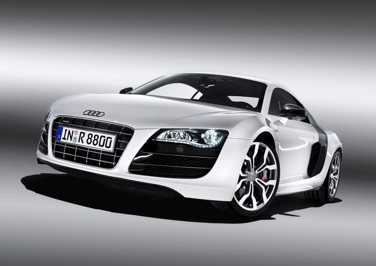 Audi R8 - Laters baby! - Ana Steele Grey car in E.L. James - 50 Shades of Grey trilogy.