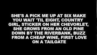 Oh good! Someone finally wrote a song about me!  Chase Rice - How She Rolls