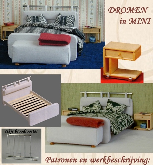 Slaapkamer meubilair.