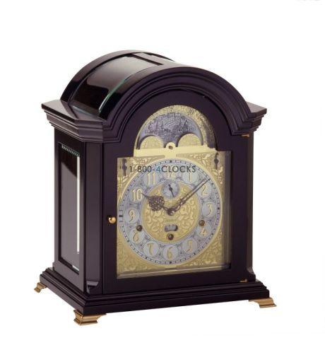 Kieninger Mozart Black Mantel Clock