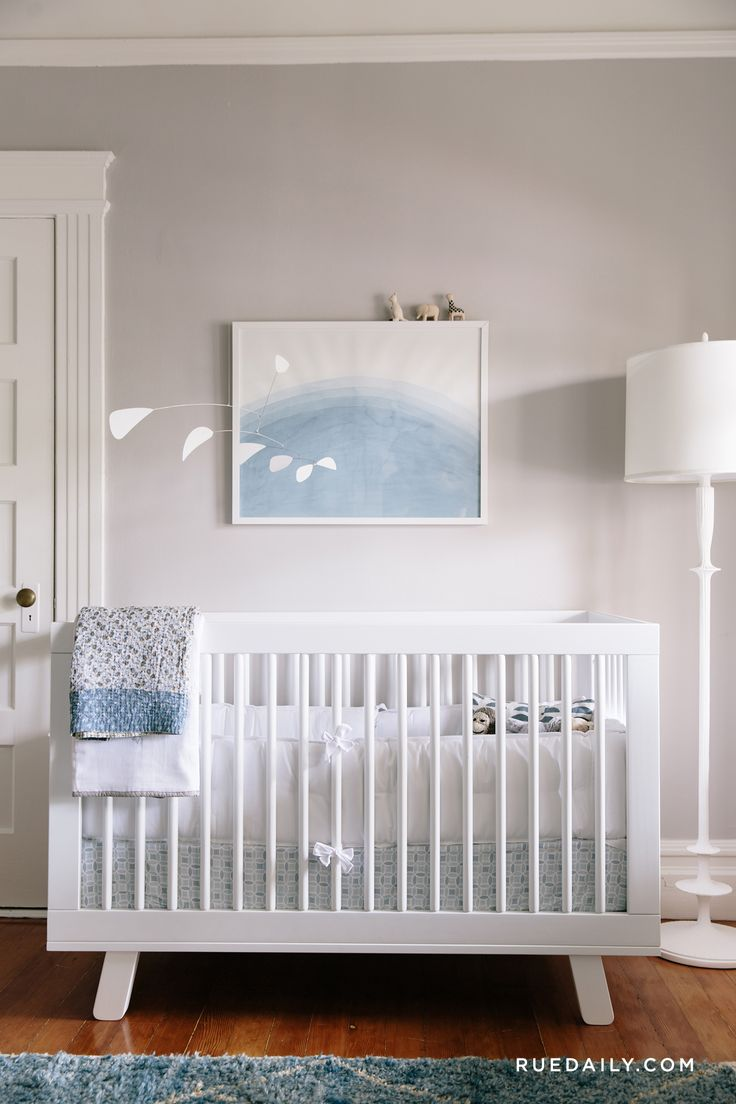 Inside a Sophisticated San Francisco Nursery | Rue