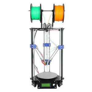 Geeetech Rostock Dual Extruder Auto Leveling Great Printer to tinker with . For Makers only :)