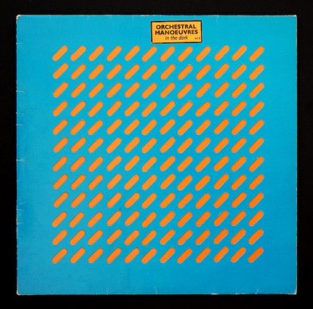Orchestral Maneuvers In The Dark LP cover by Ben Kelly and Peter Saville #design