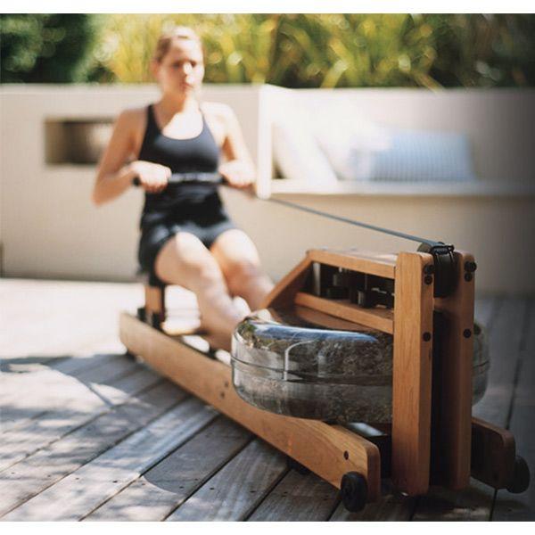 Rameur en bois avec résistance à eau WATERROWER