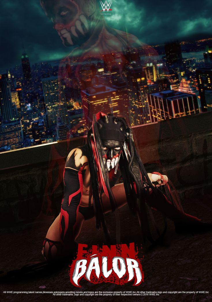 WWE Finn Balor 2016 Poster by edaba7.deviantart.com on @DeviantArt