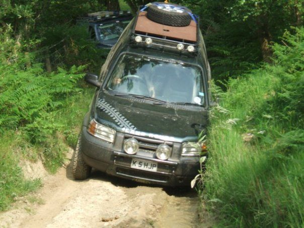 my mates modded and tough little Freelander