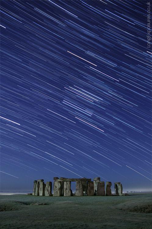 Thank Heavens Places To Visit, Under The Stars, Stars Trail, Long Exposure, Visit Stonehenge, Photography, Stonehenge Starry Ski, Heavens, Andrew Whyte