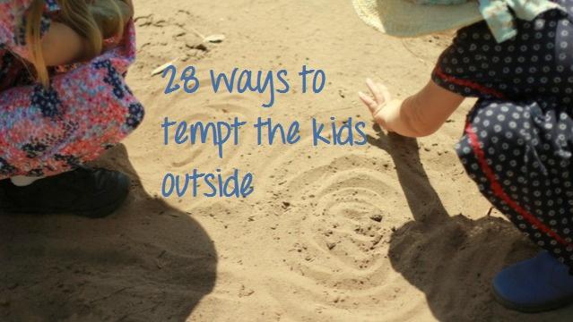Collected: 28 ways to tempt the kids outside: Outdoor Kids, Toddlers Plays, Village Voice, Kids Crafts, Baby'S Kids Stuff, Kids Fun, Goooooo Winter, Baby Stuff, Babysitting Ideas