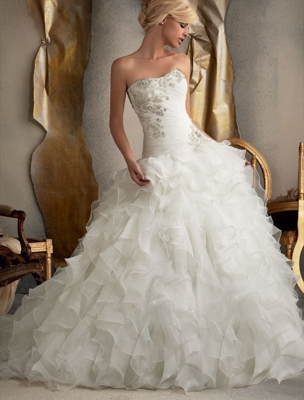 20 best images about Wedding Dresses on Pinterest | Strapless ...