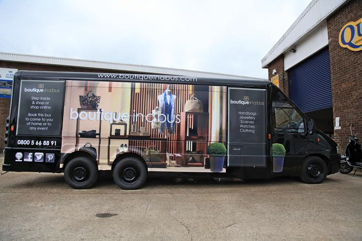 Britain's 1st fashion truck, Boutique in a Bus. www.boutiqueinabus.com
