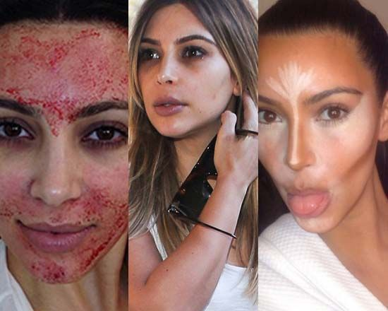 17 Best images about Kim Kardashian Before and After on ...