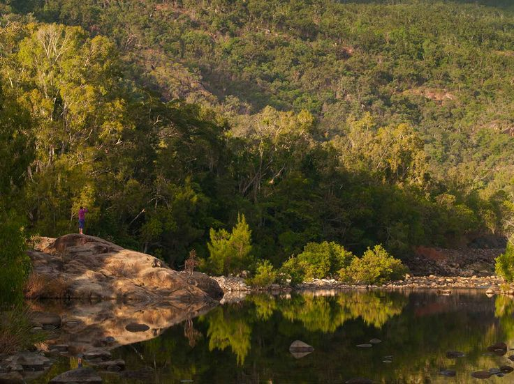 Paradise Waterhole in Paluma National Park. Photo taken by Paul Curtis at NQ Wildscapes