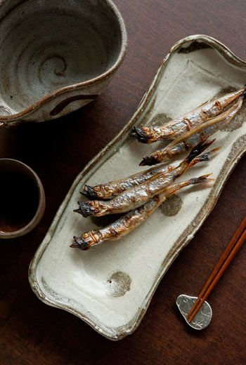 Roasted Shishamo Smelts シシャモ