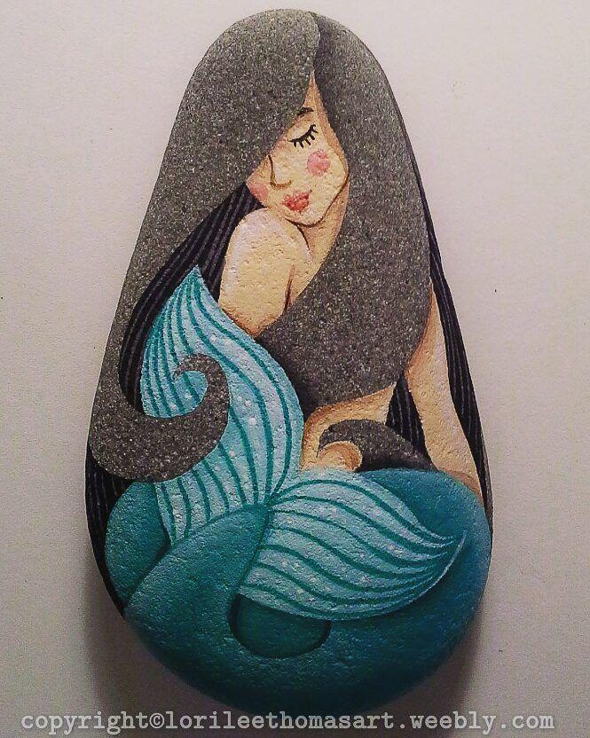 Blue Mermaid Rock. http://lorileethomasart.weebly.com/