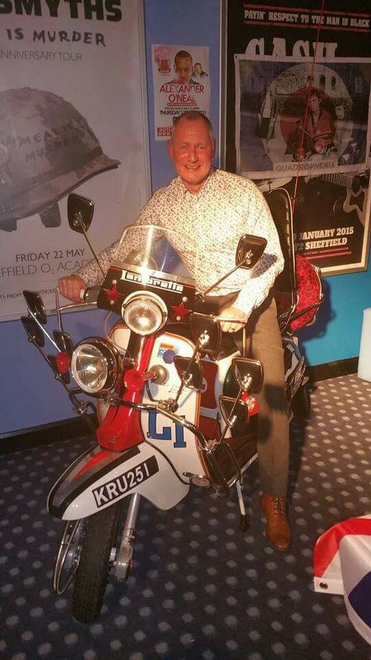 Jimmy's scooter from quadraphenia