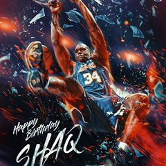 This one is for Diesel. Happy Birthday @shaq - created for NBA Asia . . . . . . . . . . . #NBA #nbahistory #nbabday #nbaart #art #design #sportsedit #sportsdesign #poster #mvp #sports #sportsposter #creative #digitalart #illustration #photoshop #shaq #lakers #miamiheat #celtics #suns #wacom #graphicdesign #graphics #nba2k18 #nbamemes #nbastyle #nbanews #nbajam #nbaontnt