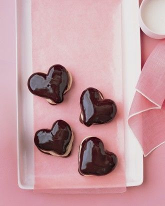 Chocolate eclair hearts Recipe!