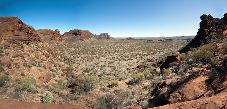 https://flic.kr/p/uGHTX3 | Palm Valley Pan from the rim walk. | A wonderful 4 hour hike. I stitched 6 pics together for this spectacular  scene.    Central Australia